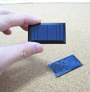 AMX3d 5V 30mA Micro Mini Power Solar Cells For Solar Panels, (53X30mm)