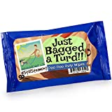Just Bagged a Turd Wipes Alcohol Free Antibacterial Sanitizing Wipes Weird Gags Dog Lovers Stocking Stuffers Pet Owners White Elephant Ideas Secret Santa Travel Size