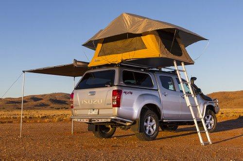 "ARB ARB4101A Sand 55"" Width x 94.5"" Length x 51"" Height Kakadu Roof Top Tent"