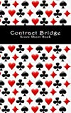 Contract Bridge Score Sheet Book: 100 score sheets for playing the card game of Contract Bridge.
