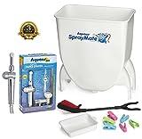 Aquaus SprayMate & Aquaus 360 Premium Diaper Sprayer for Toilet Bundle