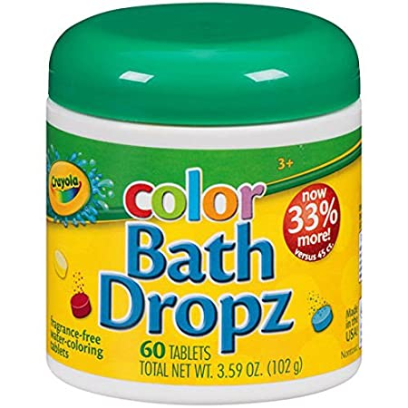 Crayola Color Bath Dropz 3.59 Ounce