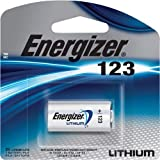 13 Energizer Lithium CR123A 3V Photo Lithium Batteries - In Retail Package