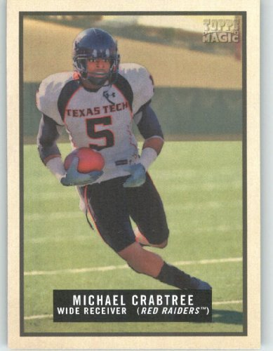 Michael Crabtree RC - Texas Tech - San Francisco 49ers (RC - Rookie Card) - 2009 Topps Magic NFL Trading Card