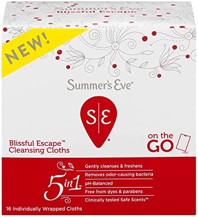 Summer's Eve Cleansing Cloths, Blissful Escape, 16 Count 3
