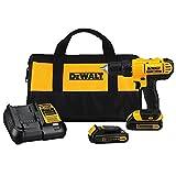 DEWALT 20V MAX Cordless Drill / Driver Kit, Compact, 1/2-Inch (DCD771C2)