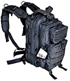 Explorer 17' Level 3 SWAT Black Tactical Military Style Assault Pack Backpack w/Molle