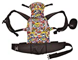 KidsEmbrace Deluxe Baby Carrier with Hood, DC Comics Chibi Justice League