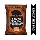 4505 Smokehouse Bbq Pork Rinds, Certified Keto, Humanely Raised, Family Size Bag, 7oz
