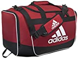 adidas Defender II Duffel Bag (Medium), University Red, 13 x 24 x 12-Inch