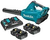 Makita XBU02PT1 18V X2 (36V) Blower Kit with 4 Batteries