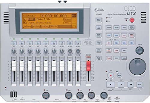 Korg D-12 12 track Digital Audio Multi Track Recorder