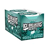 ICE BREAKERS Sugar Free Mints, Wintergreen 1.5 Ounce (Pack of 8)