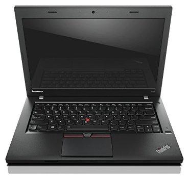 (Renewed) Lenovo Thinkpad L450 14 inch Laptop (Core i5 5th Gen/8GB/256 GB SSD/Windows 10 Pro/ Webcam/Bluetooth/WiFi/Integrated Graphics), Black