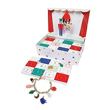 Christmas Advent Calendar for Kids Nutcracker Jewelry Box