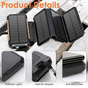 Solar-Charger-26800mAh-Power-Bank-PD18W-4-Solar-Panel-Portable-Charger-External-Battery-Pack-w-3-USB-Output-3A-for-Cell-Phones-Tablet-GoPro-Camera