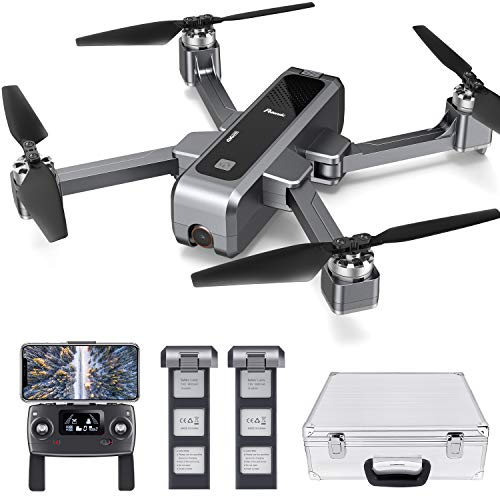 Potensic-D88-Foldable-Drone-5G-WiFi-FPV-Drone-with-4K-Camera-RC-Quadcopter-for-Adults-and-Experts-GPS-Return-Home-Ultrasonic-Altitude-Setting-Optical-Flow-Positioning-2-Battery-40min-Upgrade