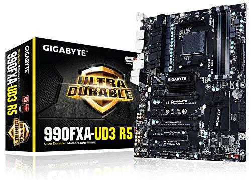 Gigabyte AM3+ AMD 990FX SATA 6Gb/s USB 3.0 ATX AMD Motherboard GA-990FXA-UD3 R5