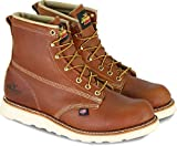 Thorogood 814-4355 Men's American Heritage 6' Round Toe, MAXWear Wedge Non-Safety Toe Boot, Tobacco Oil-Tanned - 8.5 D(M) US