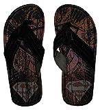 DC Comics Superman Logo Tattoo Superhero Flip Flop Sandals   M