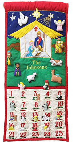 Pockets Of Learning Traditional Nativity Advent Calendar By Personalized Version