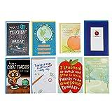 Hallmark Teacher Appreciation Card Assortment for Day Care, Preschool, Elementary School, Graduation or Back to School (8 Cards with Envelopes)