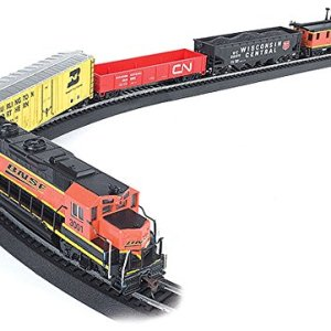 Bachmann Trains – Rail Chief Ready To Run 130 Piece Electric Train Set – HO Scale 51syPzK7FKL