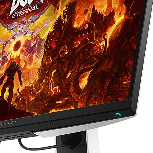 51syXwGuG0L Dell Alienware 27 inch (68.58cm) Full HD Gaming Monitor with HDMI and DP Ports, IPS Panel, 240Hz, 1ms, AMD Free Sync, Tilt, Swivel, Height-Adjustable - AW2720HF (Black)