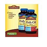Nature Made Fish OIL 1200 Mg, 360 Mg Omega-3: 400 Liquid Softgels by Nature Made
