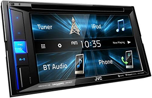 JVC KW-V250BT Multimedia Receiver Featuring 6.2' WVGA Clear Resistive Touch Monitor/Bluetooth / 13-Band EQ (Renewed)