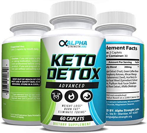 Keto Detox Cleanse Weight Loss - Advanced Colon Cleanser - Flush Excess Waste - Weight Loss Supplement for Women & Men - All-Natural Ingredients - 60 Caplets 4