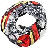 Superman Full Print Comic Design & Logo Soft Polyester Infinity Scarf NWT