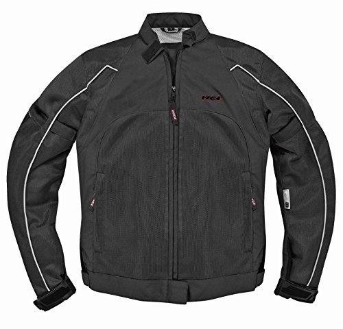 Vega Technical Gear Mercury Men's Mesh Jacket (Black, XXX-Large)