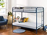Product review for Zinus Easy Assembly Quick Lock Metal Bunk Bed with Dual Ladders, Twin Over Twin, Navy