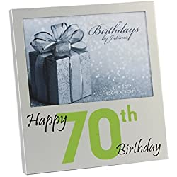 Happy 70th Birthday Photo Frame
