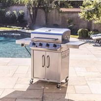 Char-Broil-463375919-Performance-Stainless-Steel-4-Burner-Cabinet-Style-Liquid-Propane-Gas-Grill