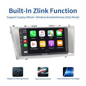 Dasaita-9-Android-100-Car-Stereo-with-Carplay-for-Toyota-Camry-2007-to-2011-Bluetooth-Head-Unit-Touch-Screen-1280x720-4G-Ram-64G-ROM-Support-Android-Auto-GPS-Navigation-WiFi-RDS