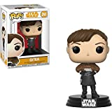 Funko Qi'Ra: Solo - A Star Wars Story x POP! Vinyl Figure + 1 Official Star Wars Trading Card Bundle [#241/26977]