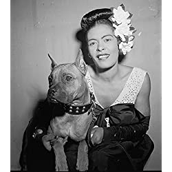 Set of (3) Billie Holiday Photo Reprints.