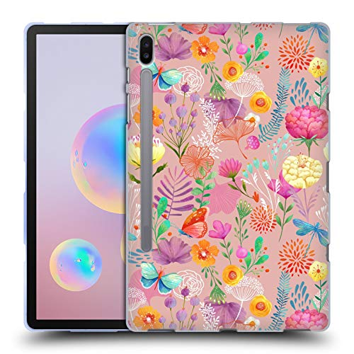 51t7Br5SeeL - Official Oilikki Spring Assorted Designs Soft Gel Case Compatible for Samsung Galaxy Tab S6 (2019)