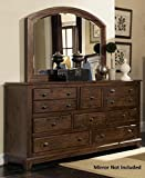 Product review for Coaster Home Furnishings 203263 Collection Dresser , Rustic Brown finish