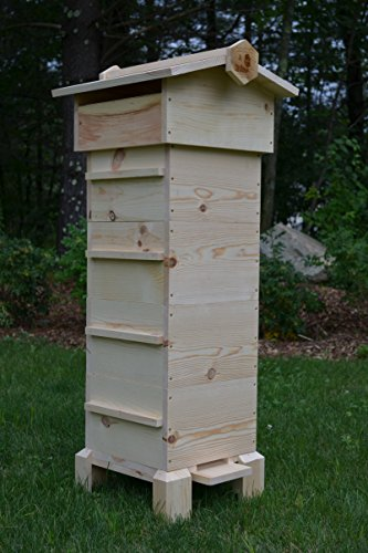 Warre Hive (Complete 4 Box Warre Kit Fully Assembled)
