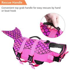 ASENKU-Dog-Life-Jacket-Ripstop-Pet-Floatation-Vest-Saver-Swimsuit-Preserver-for-Water-Safety-at-The-Pool-Beach-Boating