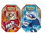 Pokemon Legends of Hoenn Set of Both Collector Tins [Kyogre-EX & Groudon-EX]