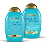 OGX Extra Strength Hydrate & Repair + Argan Oil of Morocco Shampoo & Conditioner Set, 13 Ounce