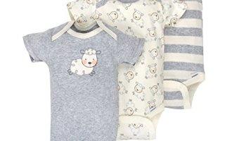 3e9c83521 Gerber Baby Boys 3 Pack Organic Short Sleeve Onesies Brand Bodysuit ...