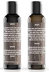 Viking Revolution Beard Wash & Beard Conditioner Set w/Argan & Jojoba Oils – Softens, Smooths & Strengthens Beard Growth - Natural Peppermint and Eucalyptus Scent - Beard Shampoo w/Beard Oil (5 oz)  Image 3