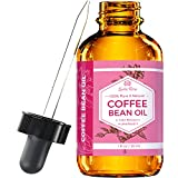 Coffee Bean Oil by Leven Rose, 100% Natural Pure Cold Pressed Unrefined Coffee Bean Oil 1 oz