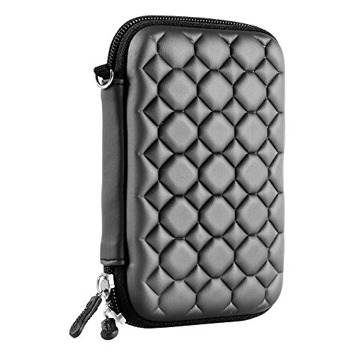 Alexvyan Shock Proof External Hard Disk Case Protector for 2.5 Inch Sony 1TB Wired USB 3.0 2.0 Hard Drive (Black Bubble) 1
