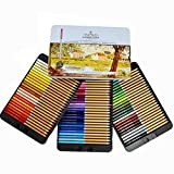 Professional Premium numbered 72 Colored Pencils Set Schpirerr Farben - Oil Based Soft Core, Ideal For Adults, Artists, Sketchers & Children - Coloring Sketching & Doodling